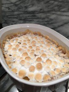 Ekhos Eats, Sweet Potato Casserole by Ivey Mellem