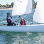 Sailing Club, one sail boat by Sailing Club