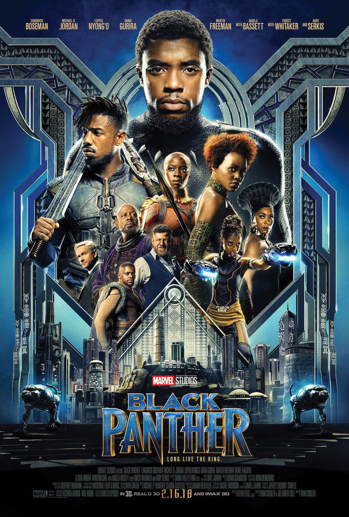 Black Panther Movie Poster.