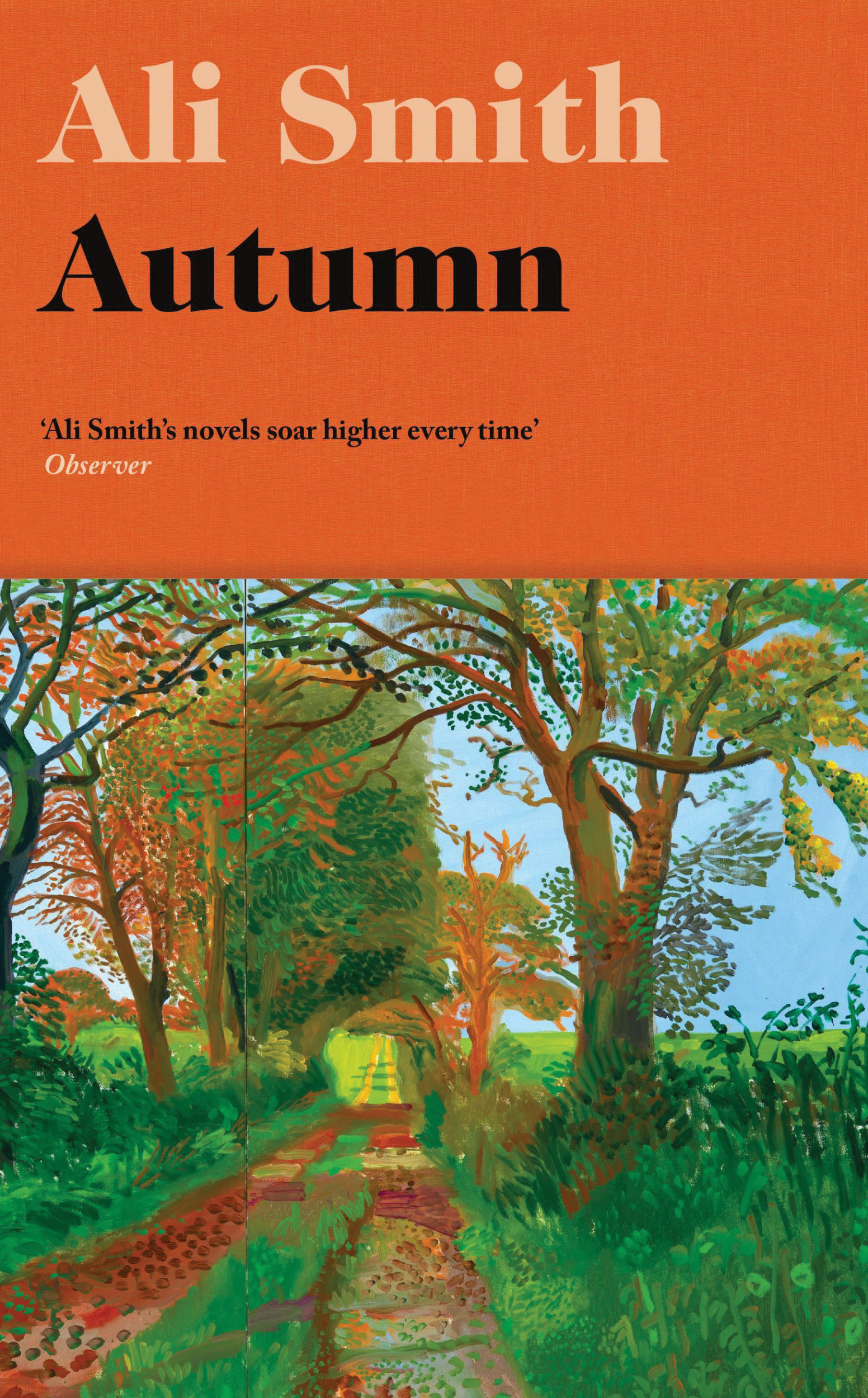 "Book cover of ""Autumn"" by Ali Smith."