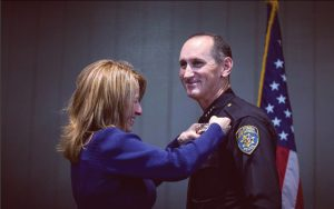 CI welcomes new Chief of Police