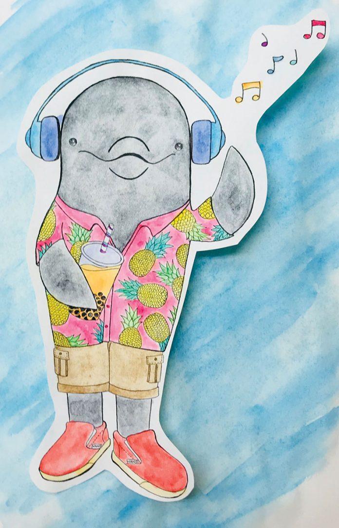 Original artwork of Ekho by Ana Hugues