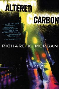 """""""Altered Carbon"""" is a TV series based on a book of the same name. The first season was released on Netflix on Feb. 2, 2018. Photo Credit to Richard K. Morgan."""
