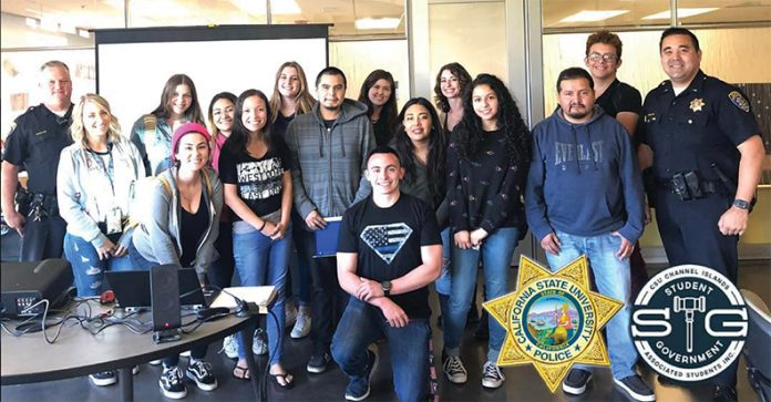 The class photo from the fall 2017 Active Shooter training hosted by CI's Police Department and Student Government. Active Shooter training is a free class offered to CI students, staff and faculty every semester. Photo credit to ci_police Instagram.