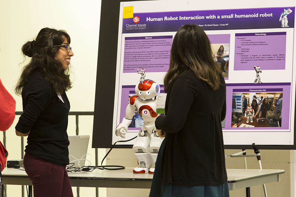 Seniors work to complete capstone projects