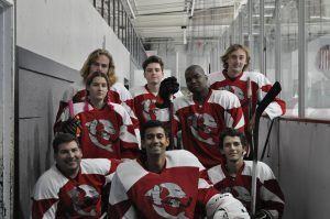 What the puck! CI Ice Hockey Club wins first game