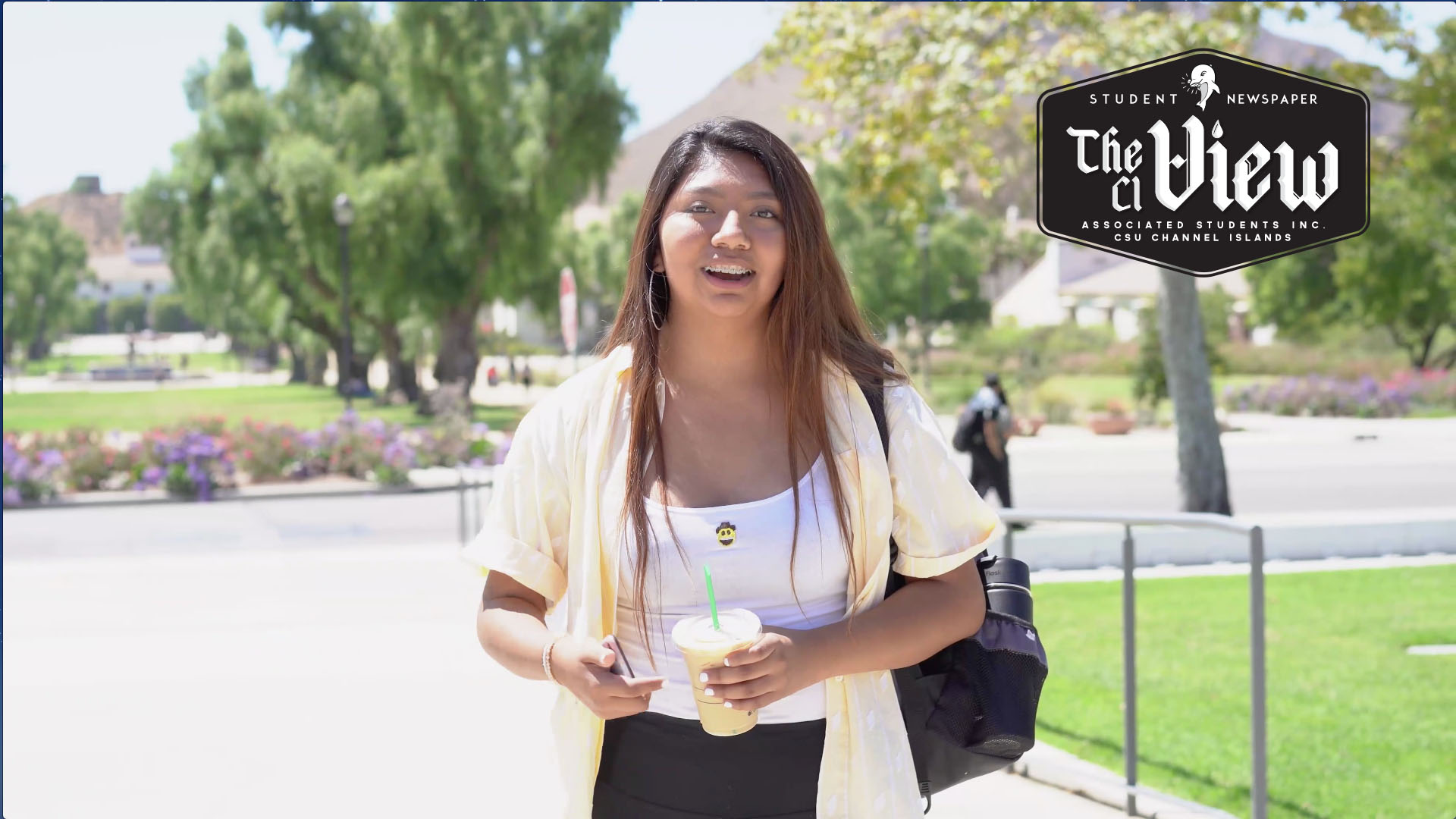 The CI View Live: New Starbucks on campus