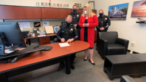 CI police sign pledge of change in use-of-force policies