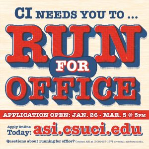 ASI Elections: Run for Office