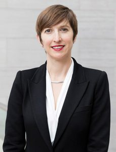 Associate Professor of art Alison Perchuk