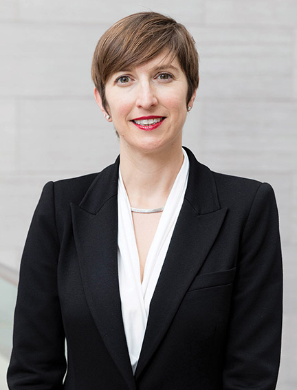 Professor Alison Perchuk poses for a headshot. Recently, Professor Perchuk was honored with the Van Courtlandt Elliott Prize for her most recently published scholarly article. Photo credit to CI Communication and Marketing.