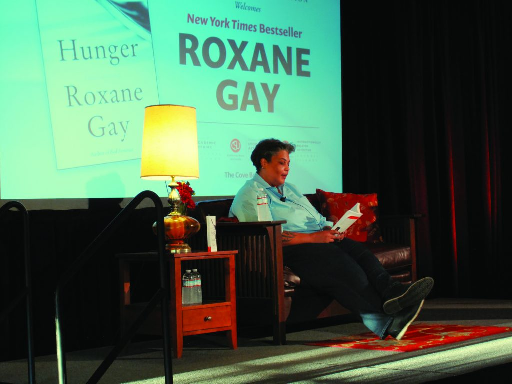 Roxane Gay visits campus