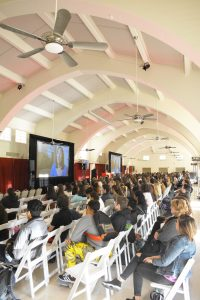 Freedom Writers encourage others to use their voice