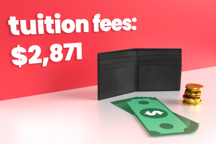 What does the tuition fee actually cover?