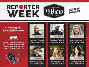 The CI View Reporter Week
