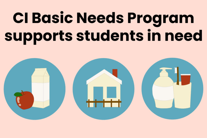 CI Basic Needs Program supports students in need